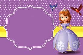Bellas Invitaciones De Princesa Sofia Para Imprimir Gratis
