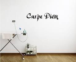 The Decal Guru Carpe Diem Wall Decal Reviews Wayfair