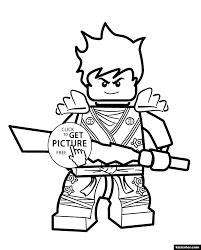 ? Ninjago Kai - Kizi Free 2020 Printable Coloring Pages For ...