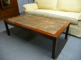 tiled top coffee table occasional table