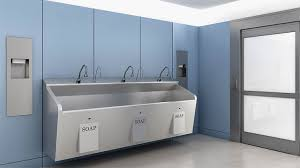sloan stainless steel sinks