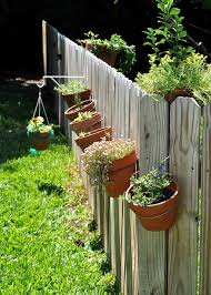 Fence Top Hanging Planters