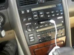 lexus ls400 interior with 8 inch jl sub