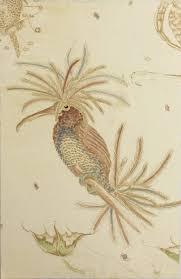 Blue + Red Anemone Bird, Melissa Ellis – Graphic Studio Gallery