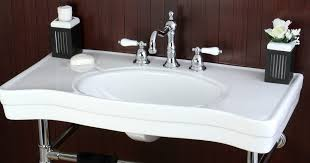 how to remove a bathroom sink