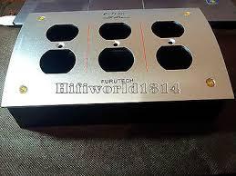 hifi chassis us ac power strip bar