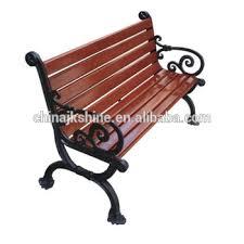 slats outdoor public wooden park bench