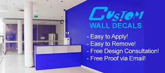 Custom Wall Decals Custom Vinyl Graphics