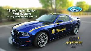 Blue Angels Edition Ford Mustang To Be Auctioned At Eaa S Gathering Of Eagles Youtube