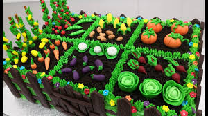How To Make A Vegetable Garden Cake By Cakes Stepbystep Youtube
