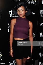 Aasha Davis attends the Premiere of IFC Films' 'Sleeping With ...