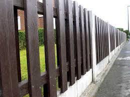 Garden Fence Panel Recycled Plastic Heavy Duty Trade