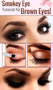 learn how to do a smokeyeye makeup for