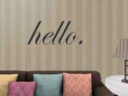Second Life Marketplace Plt Hello Wall Decal
