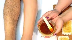 natural homemade hair removal wax