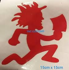 Hatchet Man Decal Fear This Juggalo Car Window Vinyl Sticker Graphic Icp Insane Clown Posse Entertainment Memorabilia Insane Clown Posse