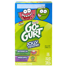 yoplait go gurt variety pack green