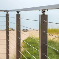 China High Quality Stainless Steel Balustrade Cable Railing Stainless Steel Railing Systems China Stainless Steel Rail Stainless Cable Railing