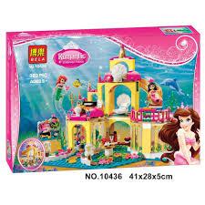Lego (có sẵn) - 10436 - Cung điện của nàng tiên cá