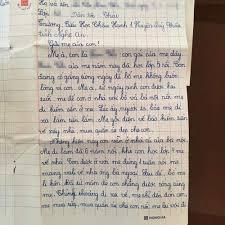 Bật khóc trước bức thư bé gái lớp 5 gửi mẹ đi lấy chồng: 'Lần tới ...