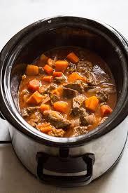 slow cooker beef stew noshtastic