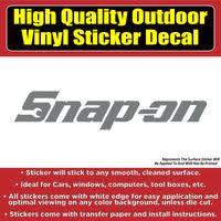 Snap On Tools Many Colors Vinyl Car Window Laptop Bumper Sticker Deca Colorado Sticker