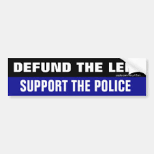 Support Police Bumper Stickers Decals Car Magnets Zazzle
