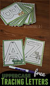 free uppercase letter tracing a z