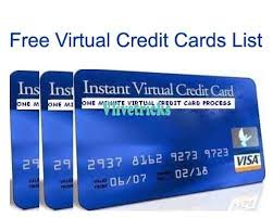 latest free virtual credit card