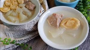 Abalone & Winter Melon Soup ...