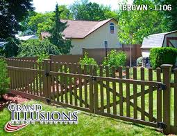 Versatile Vinyl Fence By Illusions Illusions Fence