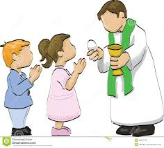 Holy communion stock vector. Illustration of girl, religion - 40387716