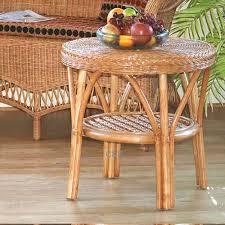 wicker loom style coffee table art deco