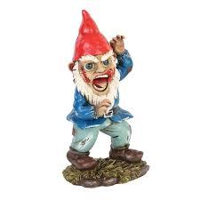 horror garden gnome screaming