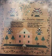 New Handwork Samplers 1829 Artridge Priscilla Jackson Cross Stitch ...