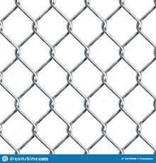 Realistic Chain Link Chain Link Fencing Texture Isolated On Transparency Background Metal Wire Mesh Fence Design Stock Vector Illustration Of Property Boundary 132785686