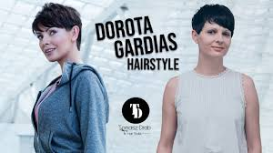 Dorota Gardias Hairstyle By Tomasz Drab Youtube