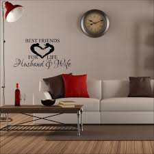 Large Wall Sticker Best Friends For Life Husband And Wife Love Heart Transfer 232525834831 3 Bespoke Graphics