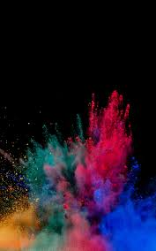 1200x1920 colorful powder explosion