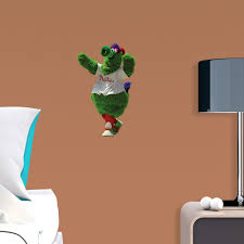Phillie Phanatic Large Officially Licensed Mlb Removable Wall Decal Wall Decals Removable Wall Decals Removable Wall