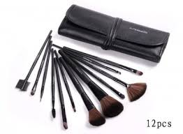 mac makeup 12pcs brushes set