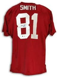 """Autographed Jackie Smith St. Louis Cardinals Red Throwback Jersey  Inscribed""""HOF 94"""" Autographed - Autographed NFL Jerseys at Amazon's Sports  Collectibles Store"""
