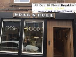 Wrap n roll - Posts - Forfar, Angus - Menu, Prices, Restaurant Reviews |  Facebook