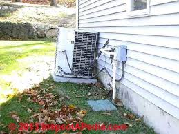 Clearance Distances For Air Conditioner Heat Pump Compressor Condenser Units
