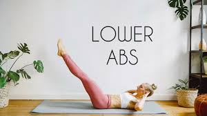 10 min lower abs workout lose lower