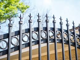 Wrought Iron Fence Houston Decorative Residential Fencing Aber Fence