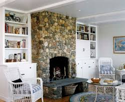 artificial stone fireplace ideas