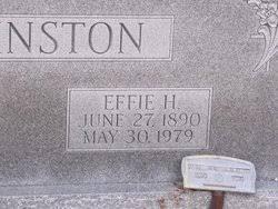 Effie Hicks Johnston (1890-1979) - Find A Grave Memorial