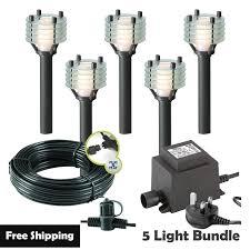 techmar larix led garden post lights