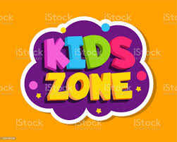 Playroom Label Kids Zone Colorful Sticker Design Baby Playing Room Decoration Vector Sign Stock Illustration Download Image Now Istock